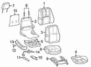 Pontiac Grand Prix Seat Back Cover  W  O Fold Back Seat