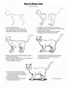 how to draw a cat step by step how to draw a cat l barry