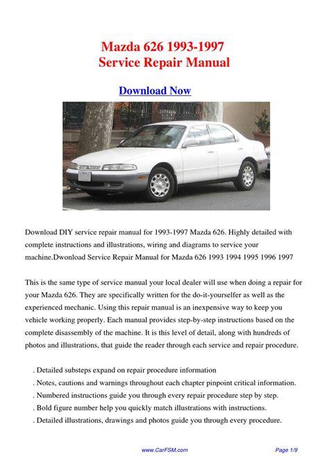 how to download repair manuals 1993 mazda b series parental controls mazda 626 1993 1997 repair manual by gong dang issuu