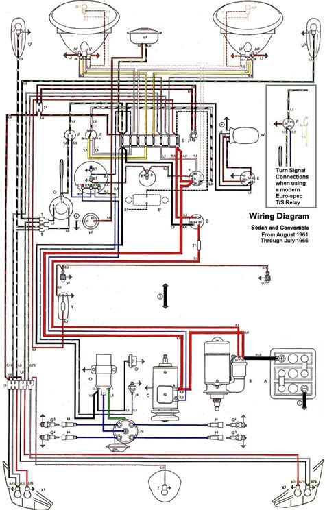 Wiring Diagram Beetle Sedan Convertible