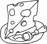 Coloring Pages Cheese Dairy Preschool Healthy Adult Comida Eten Kleurplaten Milk Getcoloringpages Clipart Worksheets Cake Mouse Crackers Kindergarten Pizza Swiss sketch template