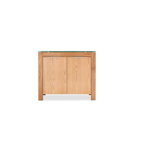 White And Oak Sideboard by Tribeca Solic White Oak Sideboard Wilko