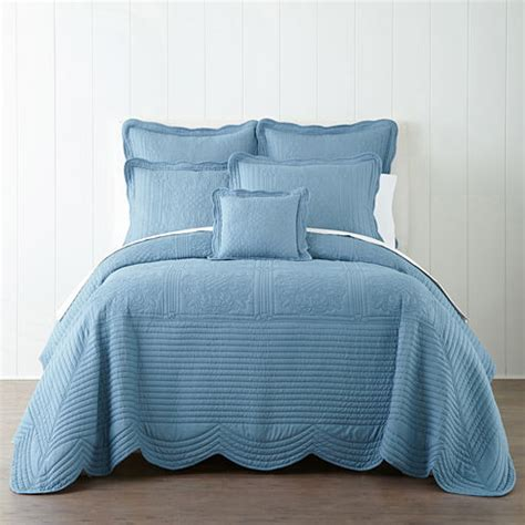 jcpenney quilted bedspreads home expressions everly bedspread jcpenney