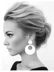 Schnelle Hochsteckfrisurenen Mittellange Haar Anleitung by Einfache Hochsteckfrisuren Mittellanges Haar