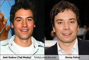 Ted mosby and Jimmy fallon on Pinterest