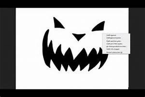 Kürbis Schnitzen Vorlage : video k rbis schablonen zum schnitzen verwenden so wird ~ Lizthompson.info Haus und Dekorationen