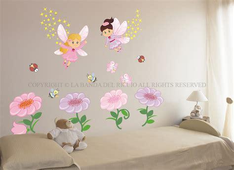 le fate dei fiori adesivi da muro  la camera dei tuoi