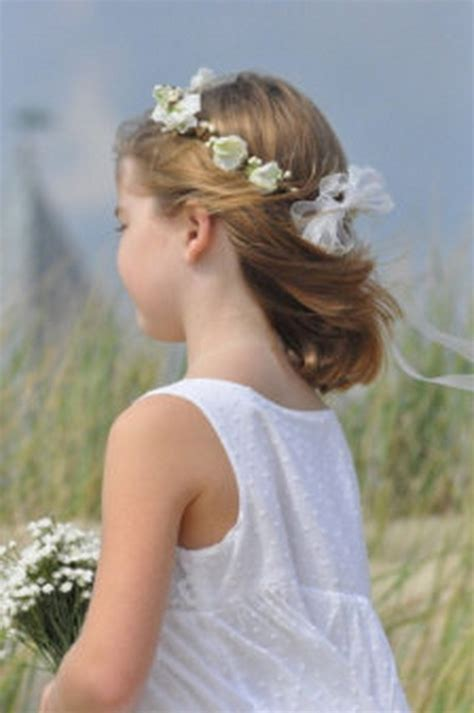 coiffure communion fille