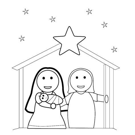Kerststal Kleurplaat Olwassen by Leuk Voor Kerststal