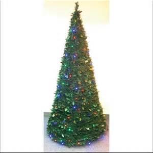 opentip com pull up christmas tree w led lights 6