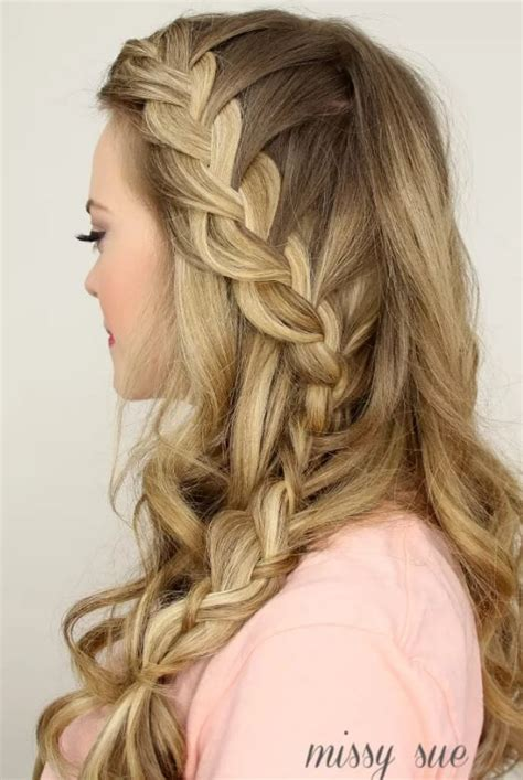 prettiest french plait hairstyles