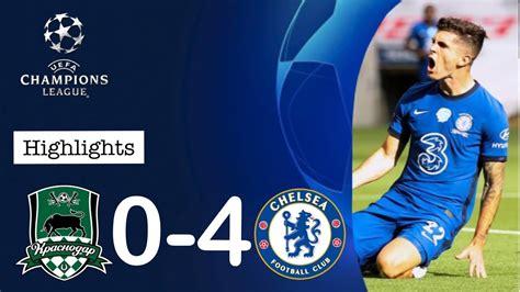 Chelsea Vs Krasnodar 4-0 - Krasnodar 0 4 Chelsea Chelsea ...
