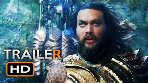 aquaman official trailer  jason momoa dc superhero