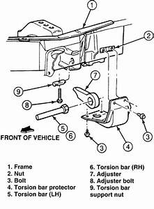 How To Crank The Torsion Bars On A Ford Ranger For More Lift