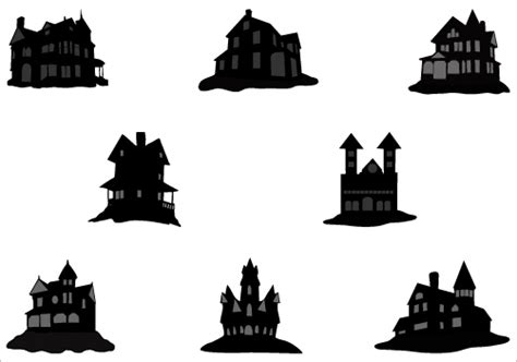 haunted house images   clip art