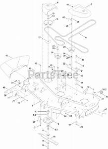 Toro Parts On The 60 Inch Deck Assembly Diagram For 75213