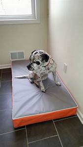 dog bed fits a baby crib mattress dig proof cover mildew With dig proof dog bed