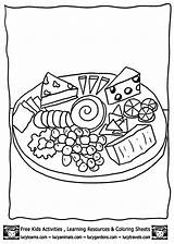 Cheese Coloring Pages Printable Mouse Template Printables Mac German Getcoloringpages Animals Lucy Cake Popular Jerry sketch template