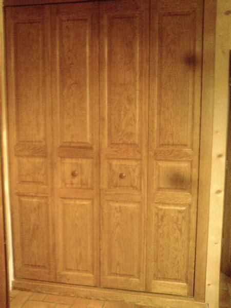 chambre de commerce cours 2 portes de placard pliantes en pin type kz