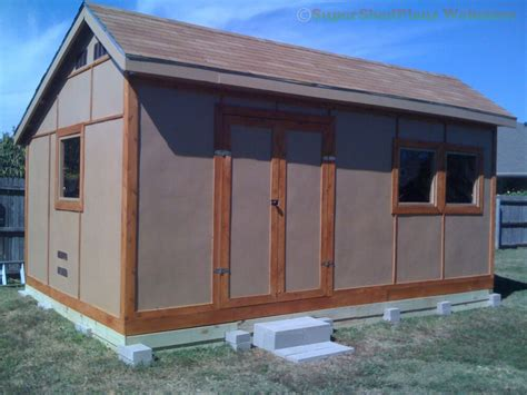 Custom Design Shed Plans, 8x8 Gambrel Wood, Total Shed