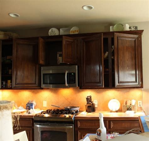 Staining Kitchen Cupboards by A Diy Disaster Decorchick