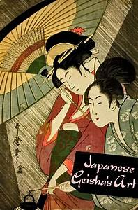 Japanese Geisha's tradition in art