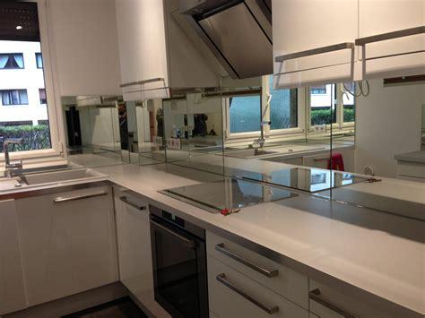 cuisine miroir crédence miroir sur mesure pour votre cuisine