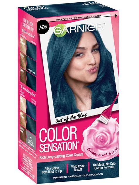 color sensation intense blue hair color    blue