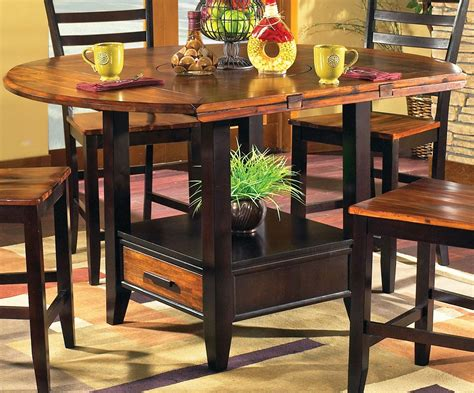 abaco extendable  counter height dining table
