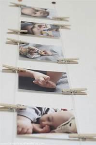 Accrocher Au Mur Sans Percer : comment afficher des photos au mur sans cadre ~ Premium-room.com Idées de Décoration