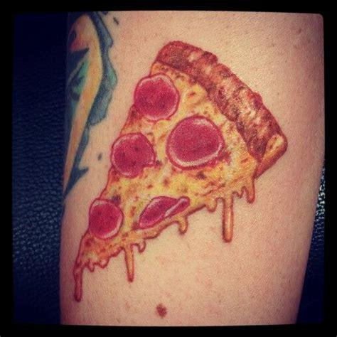 sweet pizza tattoos