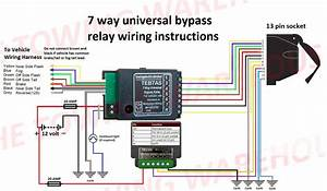 13 Pin Full Function Socket With Bypass