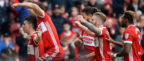 boro share   goals  play  push middlesbrough fc