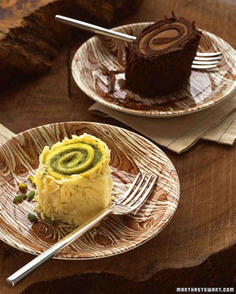 chocolate chestnut roulade recipe martha stewart weddings