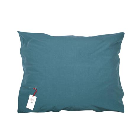 Taie D Oreillers by Taie D Oreillers Coton Bleu Sarcelle Oona Pour Chambre