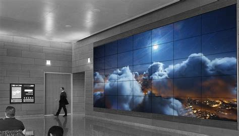 lcd led digital wall displays signage solutions planar