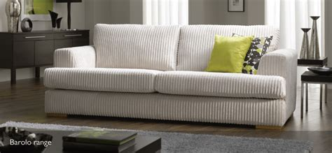 Chunky Living Room Furniture : 4 Seater Sofas Leather Fabric