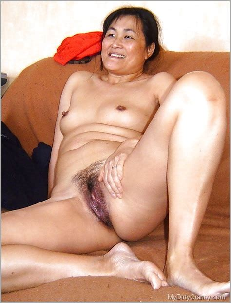 Hairy And Wet Asian Mature Mom Pussy Mydirtygranny