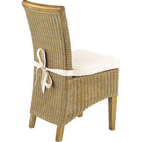 coussin de chaise dehoussable coussin de chaise noeud arjuna mco1030 aubry gaspard
