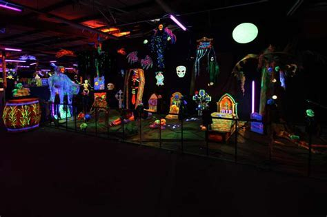 Black Light Halloween Decorations With We Adore This Glow