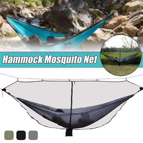 Travel Hammock With Mosquito Net by 1 2 Person Separate Hammock With Mosquito Nets Outdoor