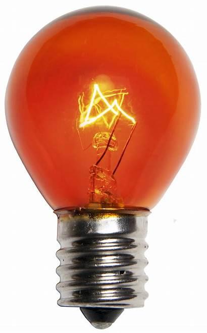Amber Bulb Watt Bulbs Orange E17 Replacement