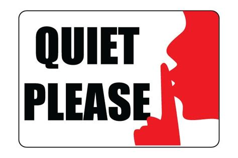 Printable Quiet Please Sign Pdf Free Download For