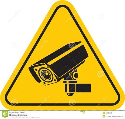 Security Camera Sign Clip Art
