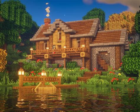 minecraft lake house   amazing minecraft houses minecraft mansion cute minecraft houses