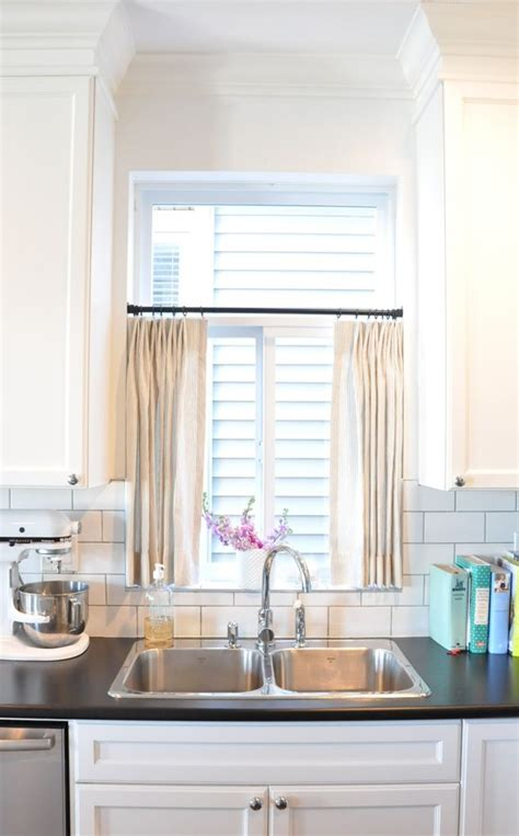 Kitchen Curtains For Wide Windows by 6 Ways To Dress A Kitchen Window Windows Kitchen