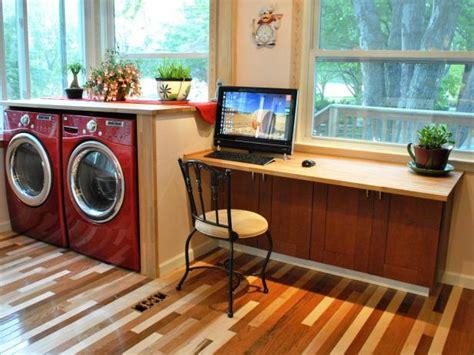 kitchen cabinets desk workspace build a simple kitchen desk with hgtv hgtv 6015