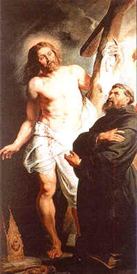 ai piedi della croce testo iconografia agostiniana ai piedi crocefisso