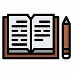 Diary Icon Record Write Story Education Icons