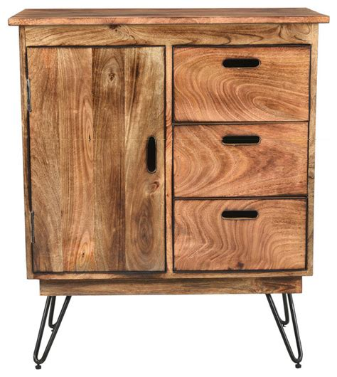 solid wood black cabinet natural burnt solid mango wood black iron cabinet rustic